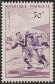 Timbres de France - 1956 - Yvert et Tellier n°1074 - Sports traditionnels - Rugby
