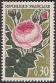 Timbres de France - 1962 - Yvert et Tellier n°1357 - Roses de France - Rose ancienne